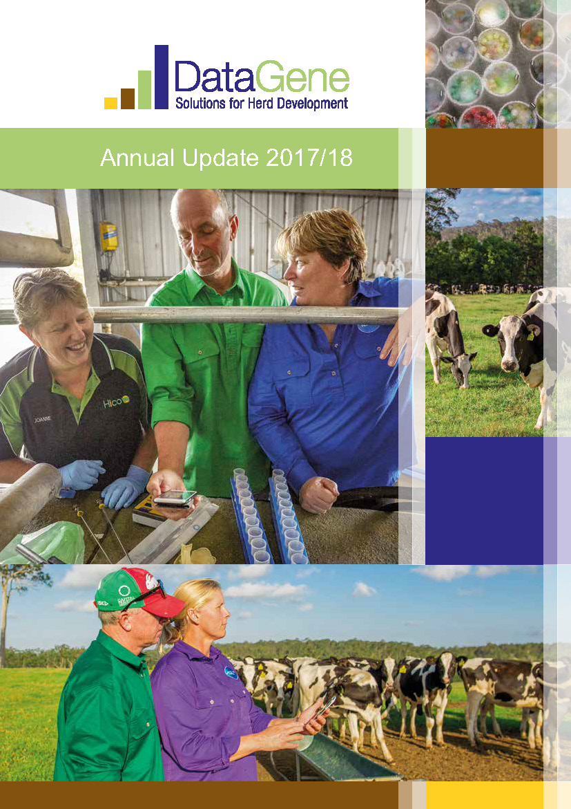 DataGene Annual Update Cover 2018